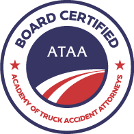 We are Board Certified by The Academy of Truck Accident Attorneys