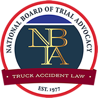 We are on the Board of Regents On The Academy of Truck Accident Attorneys