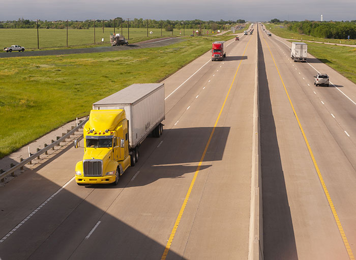 Tips for Driving Safely Around Large Trucks or Buses